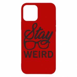 Etui na iPhone 12/12 Pro Stay weird