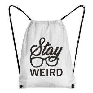Plecak-worek Stay weird