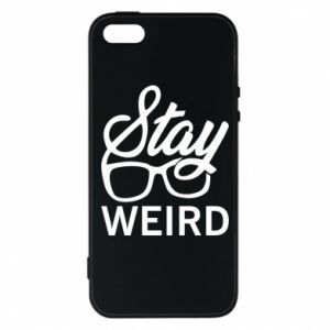 Etui na iPhone 5/5S/SE Stay weird