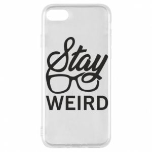 Etui na iPhone 7 Stay weird