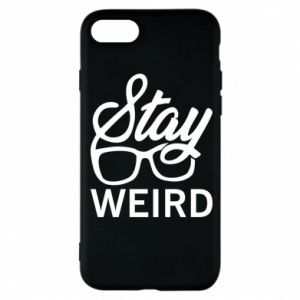 Etui na iPhone 8 Stay weird