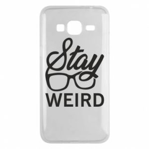 Etui na Samsung J3 2016 Stay weird
