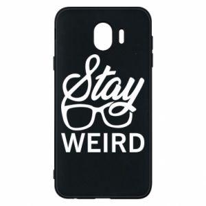 Etui na Samsung J4 Stay weird