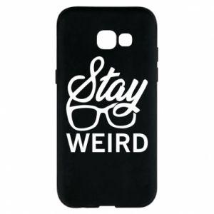Etui na Samsung A5 2017 Stay weird