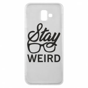 Etui na Samsung J6 Plus 2018 Stay weird