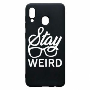 Etui na Samsung A20 Stay weird