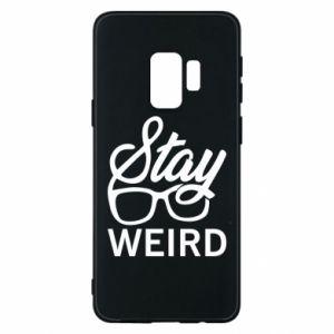 Etui na Samsung S9 Stay weird
