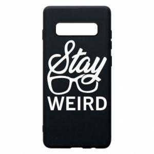 Etui na Samsung S10+ Stay weird