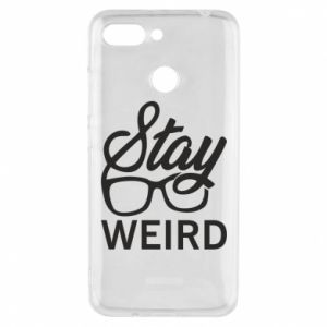 Etui na Xiaomi Redmi 6 Stay weird