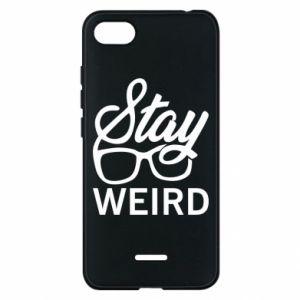 Etui na Xiaomi Redmi 6A Stay weird