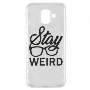 Etui na Samsung A6 2018 Stay weird