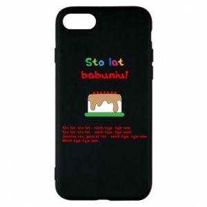 Etui na iPhone 8 Sto lat babuniu!