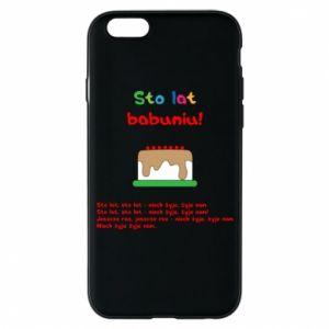 Etui na iPhone 6/6S Sto lat babuniu!
