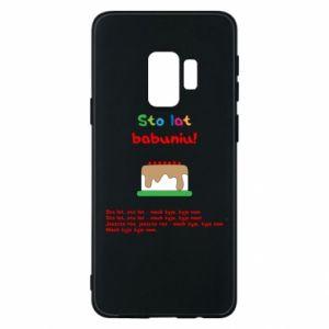 Etui na Samsung S9 Sto lat babuniu!