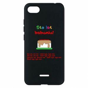 Etui na Xiaomi Redmi 6A Sto lat babuniu!