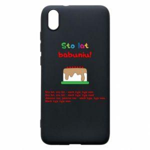 Etui na Xiaomi Redmi 7A Sto lat babuniu!