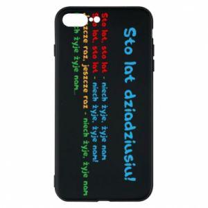 Phone case for iPhone 7 Plus Happy birthday, grandpa! - PrintSalon