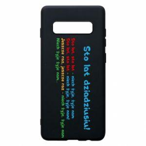 Phone case for Samsung S10+ Happy birthday, grandpa! - PrintSalon