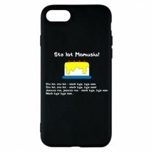 Phone case for iPhone 8 Happy Birthday Mommy! - PrintSalon