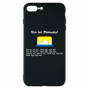 Phone case for iPhone 8 Plus Happy Birthday Mommy! - PrintSalon