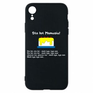 Phone case for iPhone XR Happy Birthday Mommy! - PrintSalon