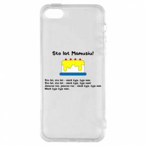 Phone case for iPhone 5/5S/SE Happy Birthday Mommy! - PrintSalon