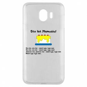 Phone case for Samsung J4 Happy Birthday Mommy! - PrintSalon