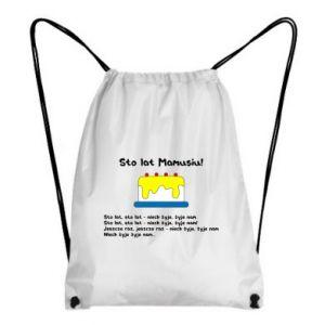 Backpack-bag Happy Birthday Mommy! - PrintSalon