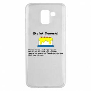 Phone case for Samsung J6 Happy Birthday Mommy! - PrintSalon