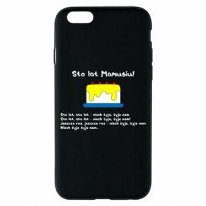 Phone case for iPhone 6/6S Happy Birthday Mommy! - PrintSalon
