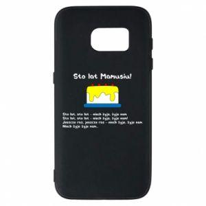 Phone case for Samsung S7 Happy Birthday Mommy! - PrintSalon