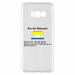 Phone case for Samsung S8 Happy Birthday Mommy! - PrintSalon