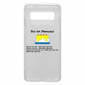 Phone case for Samsung S10 Happy Birthday Mommy! - PrintSalon
