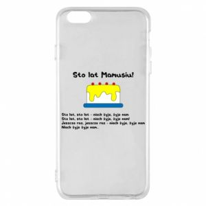 Phone case for iPhone 6 Plus/6S Plus Happy Birthday Mommy! - PrintSalon