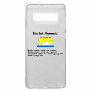 Phone case for Samsung S10+ Happy Birthday Mommy! - PrintSalon