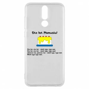Phone case for Huawei Mate 10 Lite Happy Birthday Mommy! - PrintSalon