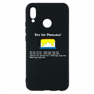 Phone case for Huawei P20 Lite Happy Birthday Mommy! - PrintSalon