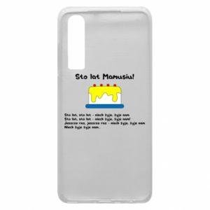 Phone case for Huawei P30 Happy Birthday Mommy! - PrintSalon