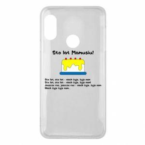 Phone case for Mi A2 Lite Happy Birthday Mommy! - PrintSalon