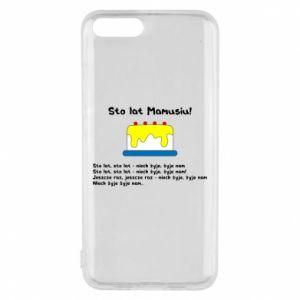 Phone case for Xiaomi Mi6 Happy Birthday Mommy! - PrintSalon