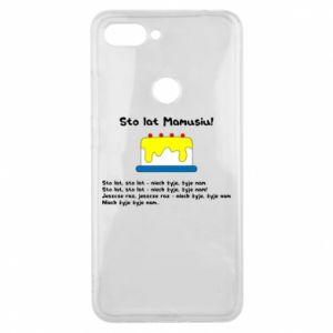 Phone case for Xiaomi Mi8 Lite Happy Birthday Mommy! - PrintSalon