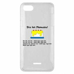 Phone case for Xiaomi Redmi 6A Happy Birthday Mommy! - PrintSalon