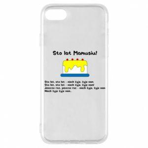 Phone case for iPhone 7 Happy Birthday Mommy! - PrintSalon