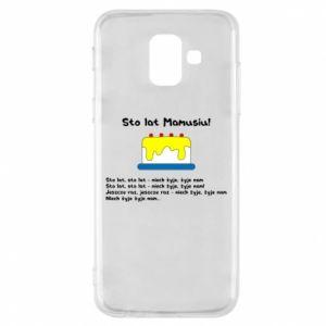 Phone case for Samsung A6 2018 Happy Birthday Mommy! - PrintSalon
