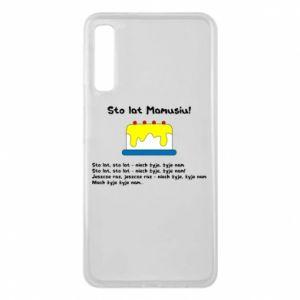 Phone case for Samsung A7 2018 Happy Birthday Mommy! - PrintSalon