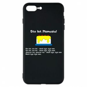 Phone case for iPhone 7 Plus Happy Birthday Mommy! - PrintSalon