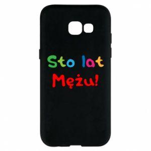 Phone case for Samsung A5 2017 Happy birthday, husband! - PrintSalon