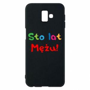 Phone case for Samsung J6 Plus 2018 Happy birthday, husband! - PrintSalon