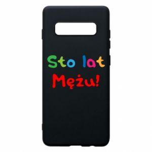 Phone case for Samsung S10+ Happy birthday, husband! - PrintSalon
