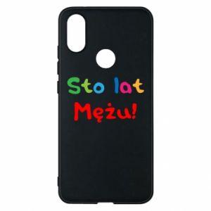 Phone case for Xiaomi Mi A2 Happy birthday, husband! - PrintSalon